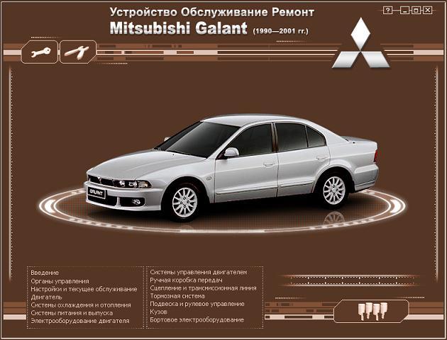 Руководство Mitsubishi Lancer 1993Г 2.0 Diesel